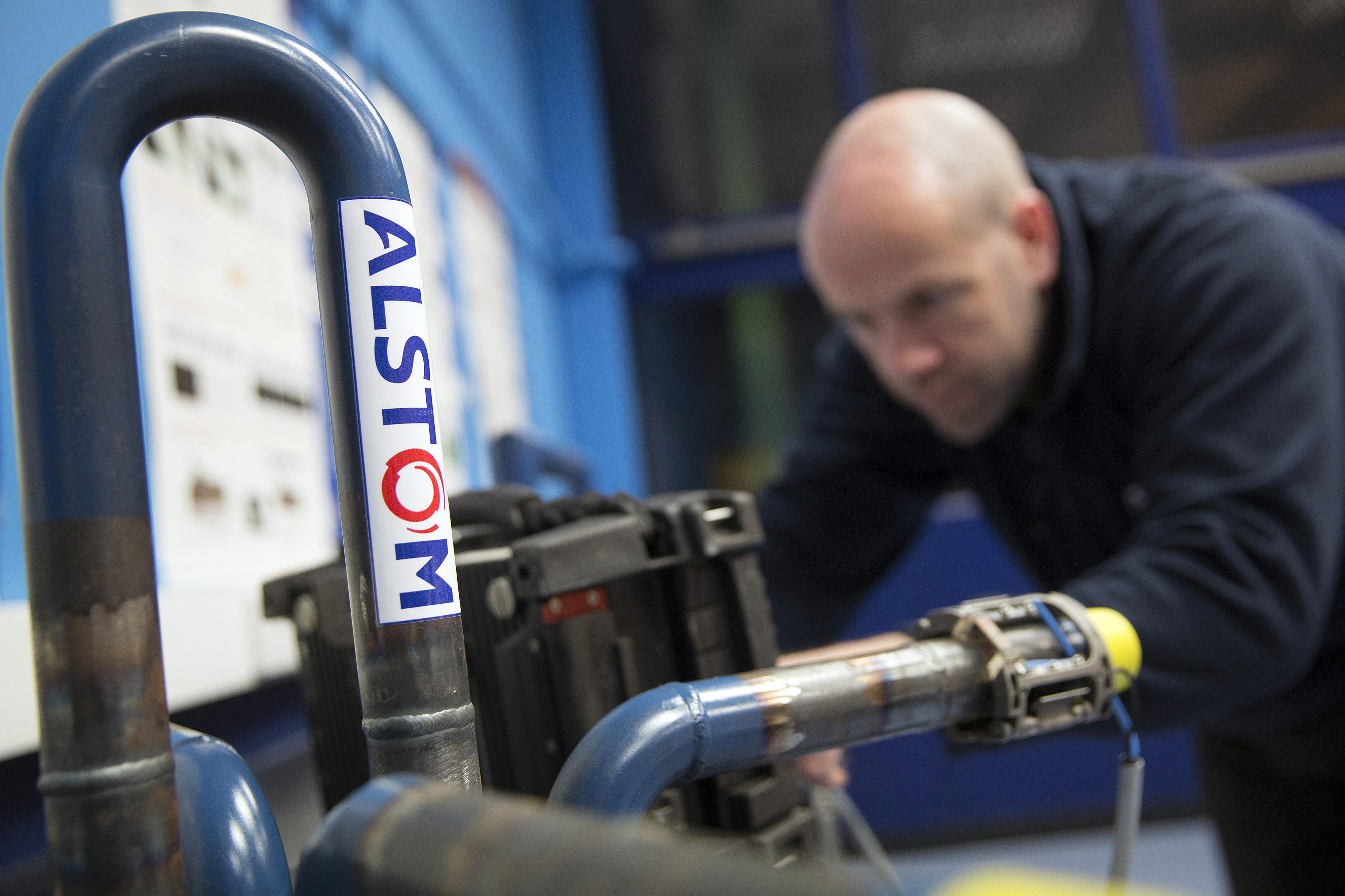 Alstom SA's Industrial Welding School