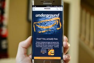 Amazon rend des centaines d'applis gratuites grâce à Underground