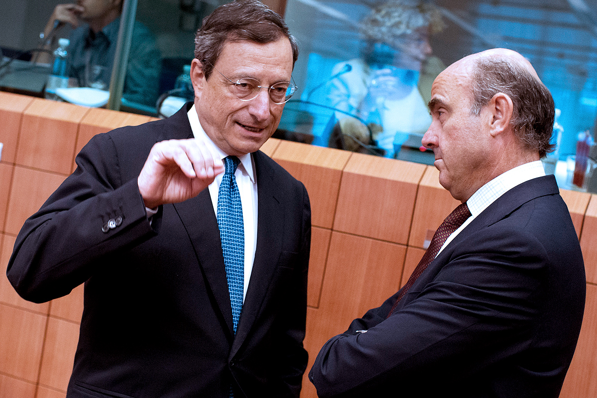 Mario-Draghi-Luis-de-Guindos